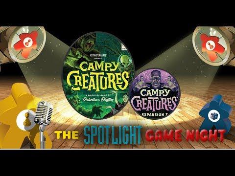 Spotlight Game Night REPLAY - Campy Creatures