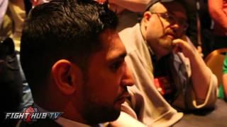 Canelo vs. Khan video- Complete Amir Khan media roundtable video