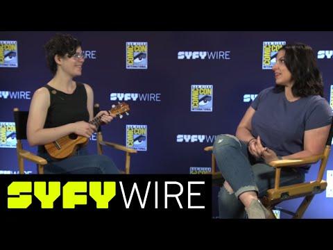 Steven Universe' Rebecca Sugar Performs It's Over Isn't It | San Diego Comic-Con 2017 | SYFY WIRE