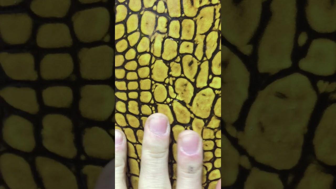 Имитация кожи - УФ-печать на стекле или пластике