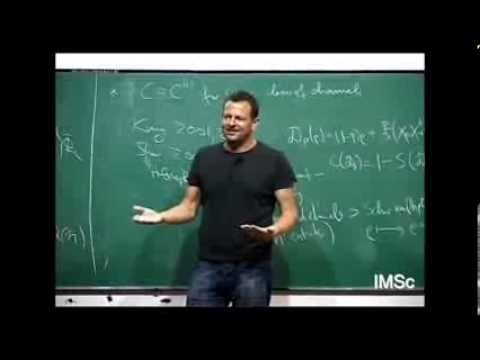 004 Quantum channel capacities -- Some answer and many questions