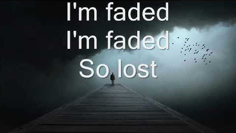 alan walker  faded where are you now lyrics