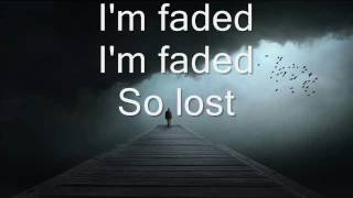 Faded lyrics video check out the official for this song: https://www./watch?v=60ithlz5wea i do not own copyright song. all righ...