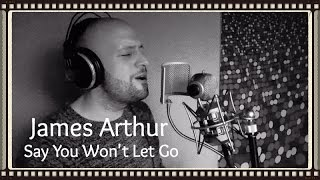 James Arthur - Say You Won't Let Go | Aïrto Cover Live