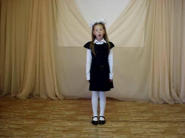 Виктория Баранова читает произведение «Листопад» (Бунин Иван Алексеевич)