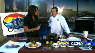 Kcra 3 Kitchen: Salmon With Champagne Twist