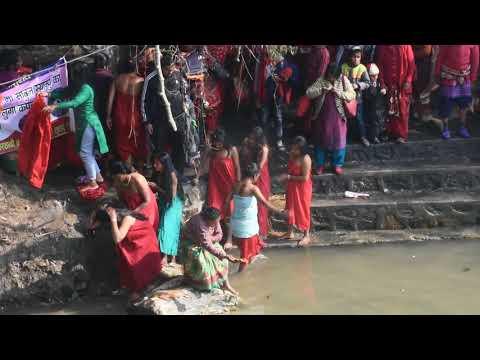Sali Nadi 2018|Nepali Women Taking Holy Bath In Sali Nadi