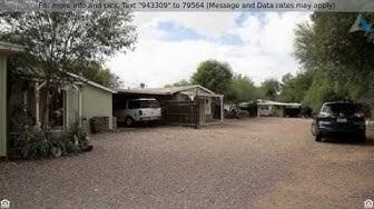 4 Unit Investment Property For Sale in Apache Junction, AZ with Positive Cash Flow