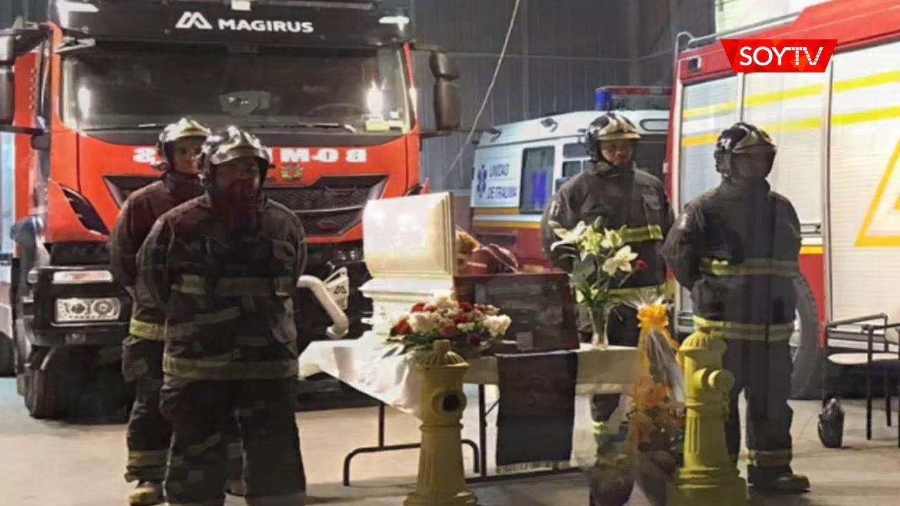 Bomberos de Iquique despidieron a su fiel guardián con emotivo adiós -  YouTube