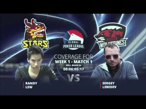 Replay: Global Poker League Week 1 EurAsia Heads-Up Matches - W1M5, 6 & 7