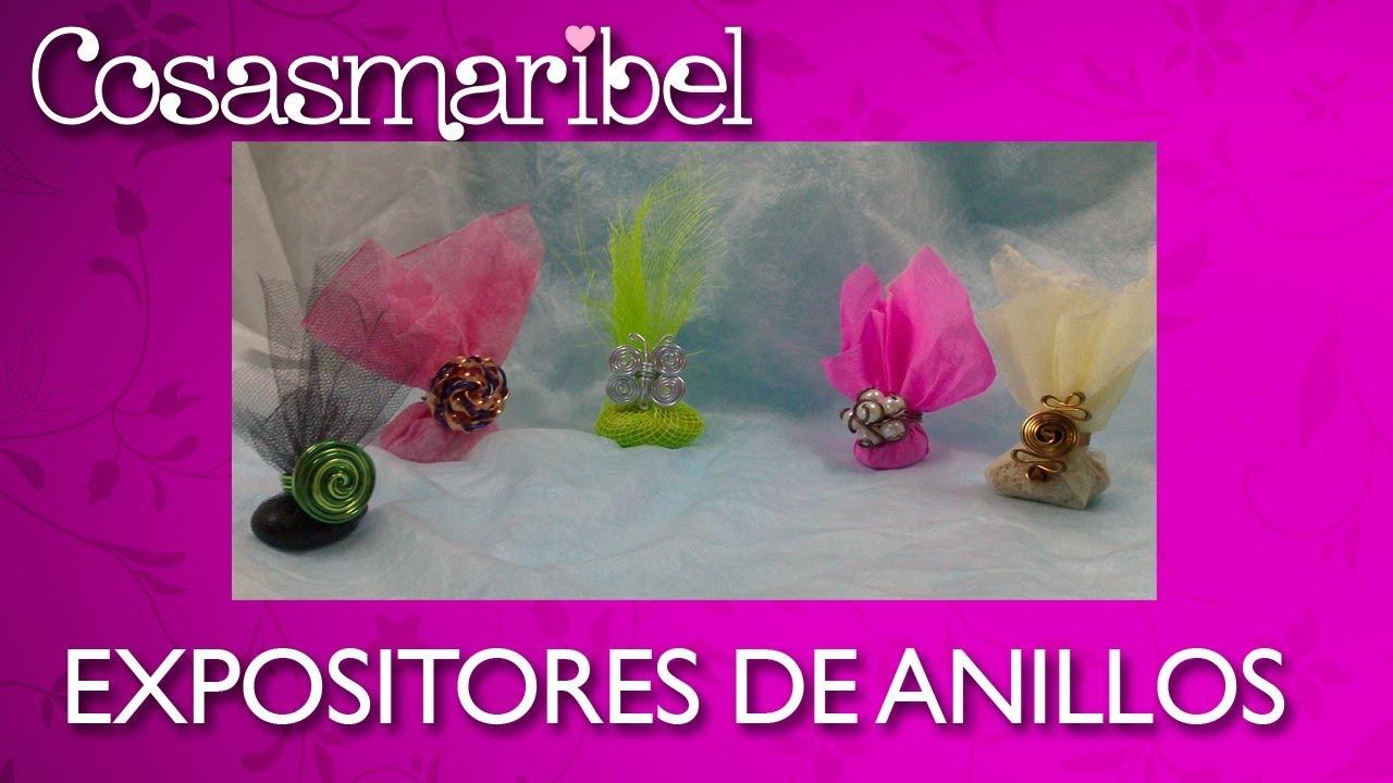Expositores de anillos para escaparates ferias y - Feria de manualidades en barcelona ...