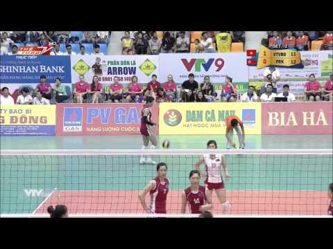 [ Cup VTV Bình Điền 2015 ] - VTV Bình Điền Long An vs 4.25 Norlh Korea - Full HD