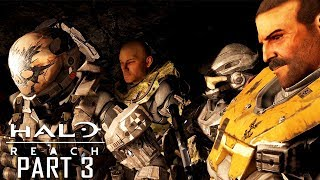 HALO REACH PC 4K 60FPS Gameplay Walkthrough Part 3 (No Commentary)