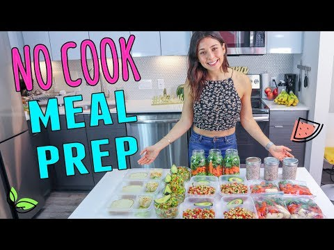 NO COOK MEAL PREP FOR THE WHOLE WEEK!��Yovana