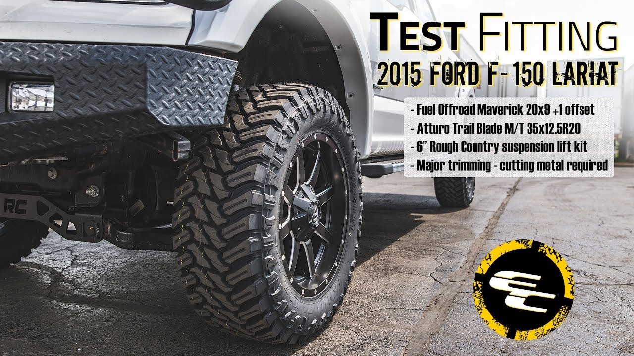 5889c8c77db Test Fitting - Lifted 2015 Ford F-150 w  20