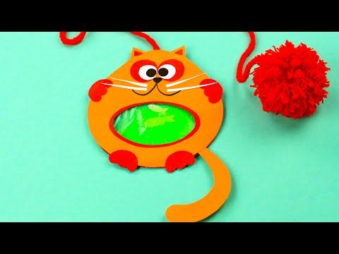 סימניה מגניבה של חתול