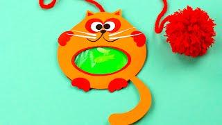 diy liquid cat bookmark
