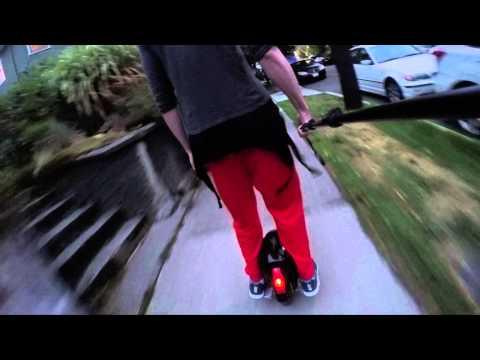 Sidewalk Commuting in Seattle: Electric Unicycle