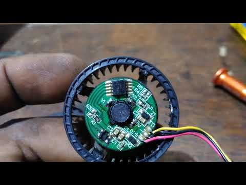 How to repair Sony projector just on and off problem