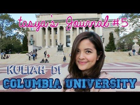 KEGIATAN TASYA KULIAH DI COLUMBIA UNIVERSITY - Tasya's Journal #5