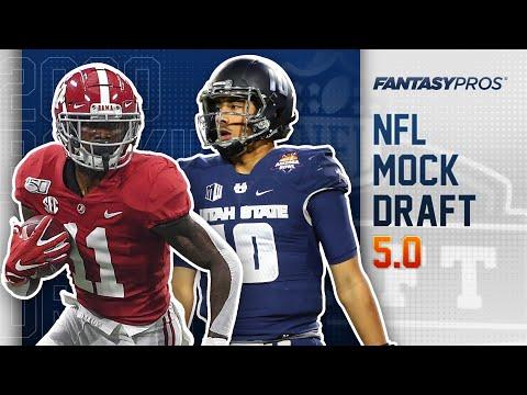 2020 NFL Mock Draft   FULL Rounds 1 & 2 (Final Mock)