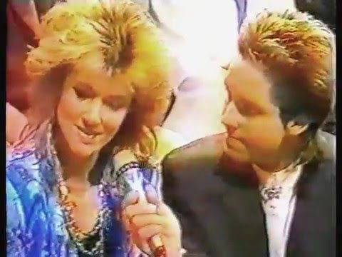 Marie and Per interview before Roxette- Lat Lördag 1985