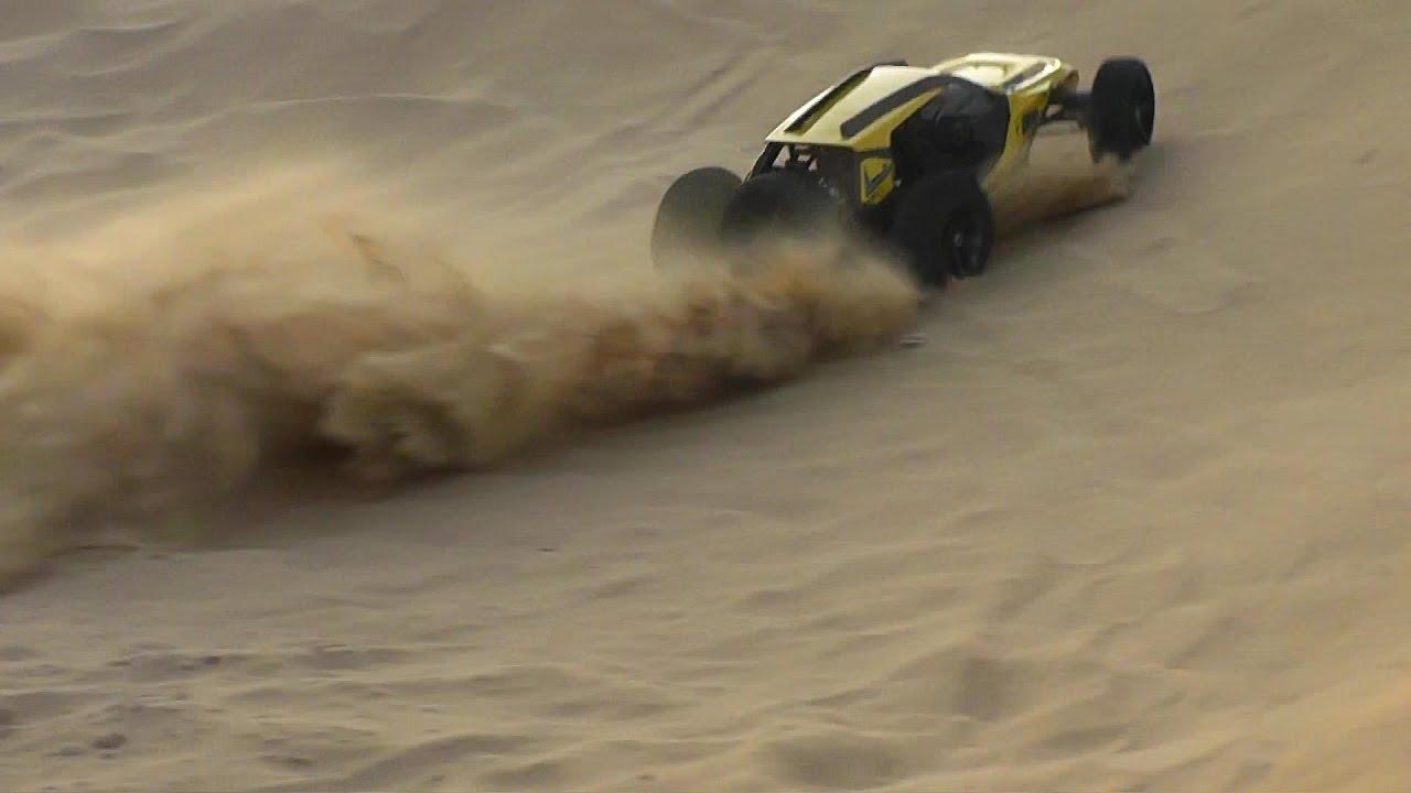 HBX Vortex Mini RC 2WD Buggy Torture Test Dune Bashing - YouTube