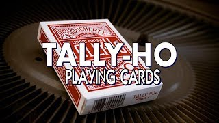 Tally Ho Cards - USPCC - Deck Review [HD]