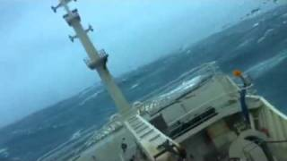 Rogue wave hits killybegs fishing vessel Sheanne