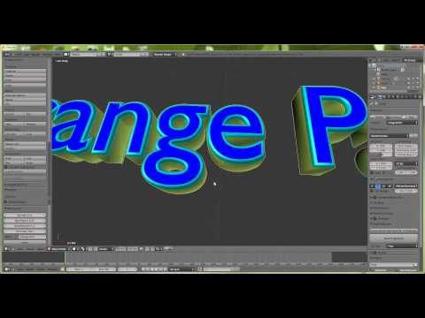 Make word ( Blender 3D Text maker Add-on )