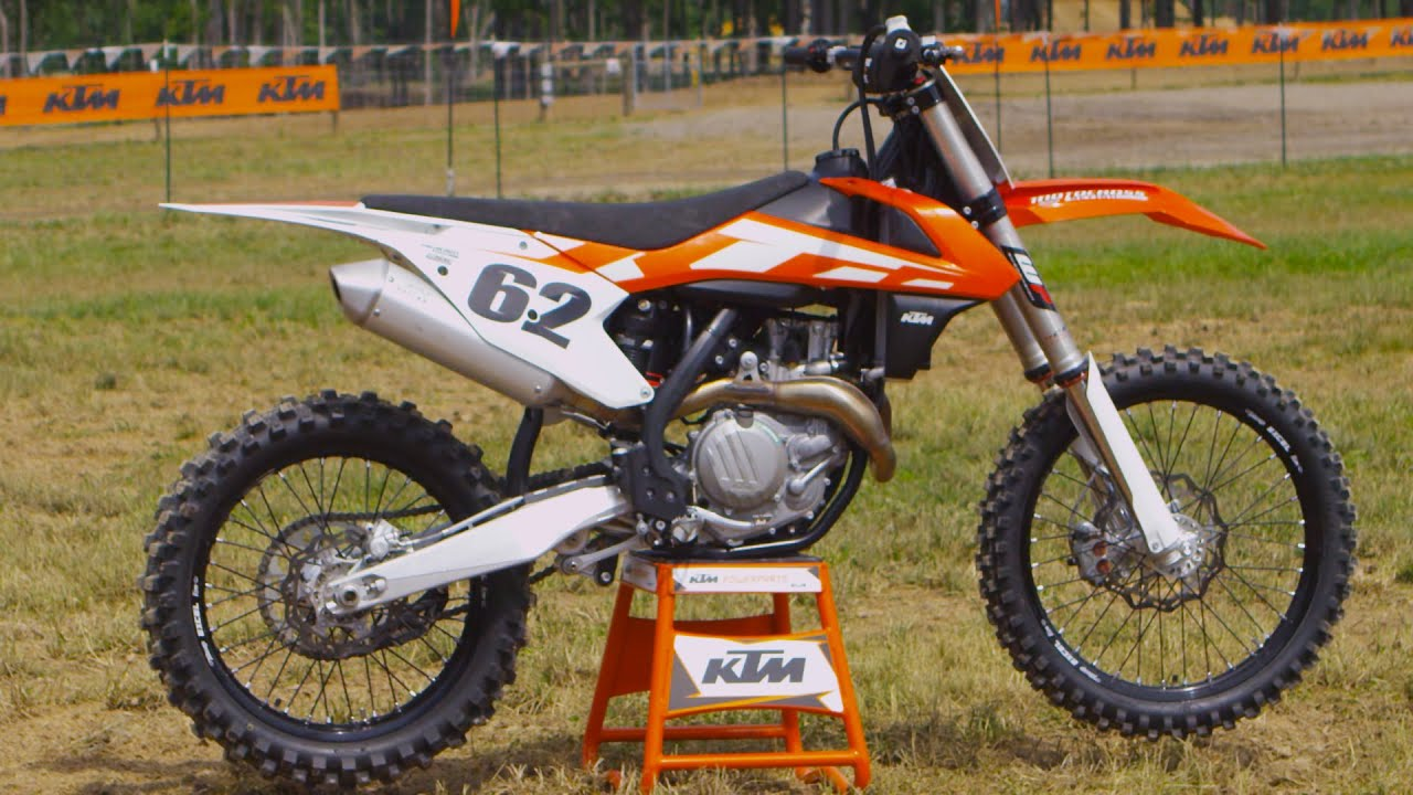 first ride 2016 ktm 450sxf motocross action magazine youtube