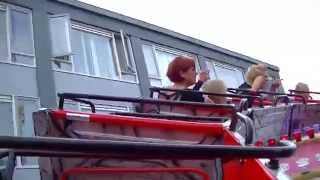 Disco Dancer Hully Gully - Boers (Onride) Video Kermis Weert 2014