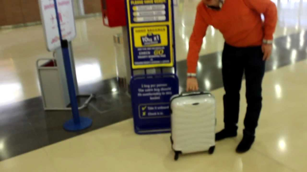 Samsonite Firelite Equipaje De Mano Youtube
