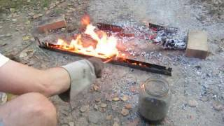 Primitive technology - bluing