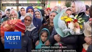 """ramzan kadyrov creates a """"dream village"""" for chechen poor"""
