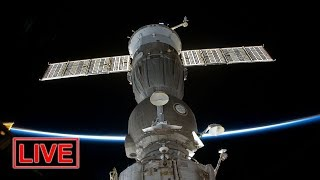 REPLAY:  3 astronauts aboard Soyuz spacecraft arrive at the ISS (12/3/2018)