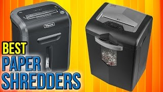 10 Best Paper Shredders 2017