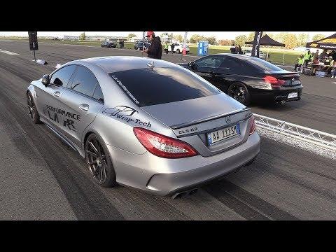 BRABUS Mercedes CLS63 S AMG Vs 740HP BMW M6 F12 HPT
