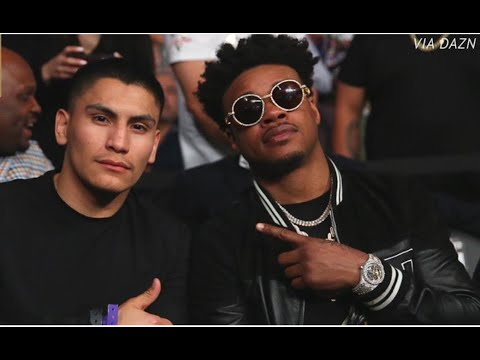 ERROL SPENCE AND VERGIL ORTIZ BEEF OVER CRY BABY COMMENT - YouTube
