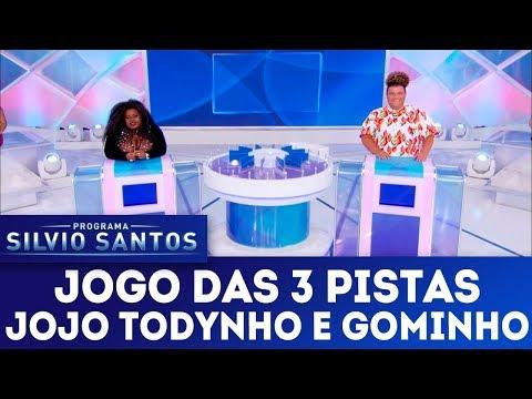 Jogo das 3 Pistas com Jojo Todynho e Gominho  | Programa Silvio Santos (11/03/18)
