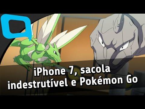 Protótipo Do Iphone 7 Sacola Indestrutível E Mais Pokémon
