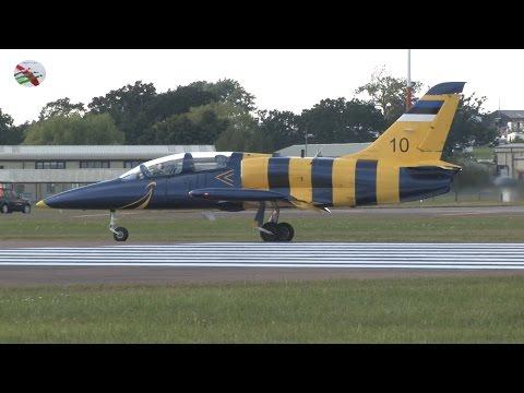 Royal International Air Tattoo 2014 Arrivals With ATC Radio P3 Airshow World