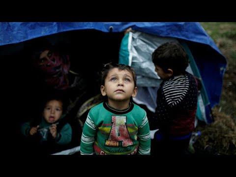 Violência sexual e traumas infantis pressionam migrantes em Lesbos