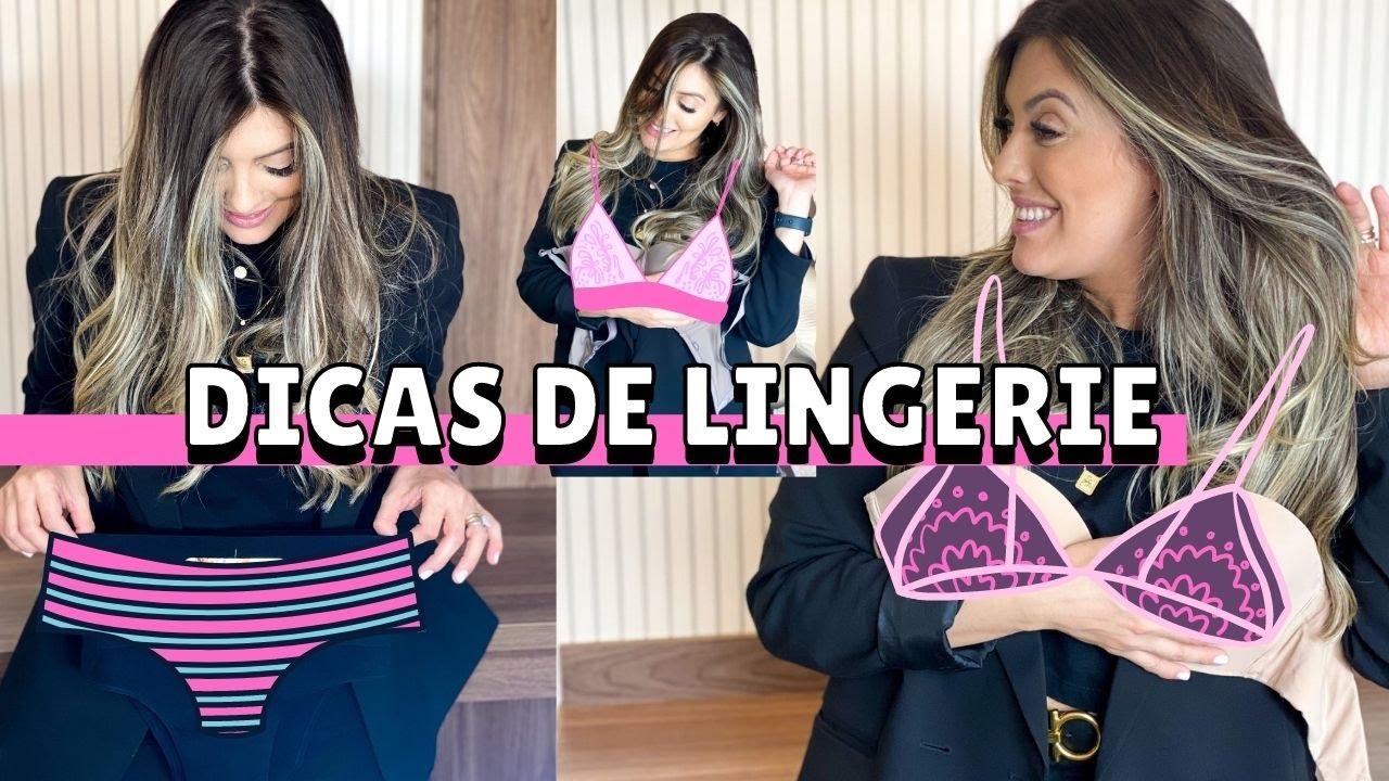 Download DICAS DE LINGERIE, qual o melhor sutiã, tudo sobre lingerie e calcinhas que não marcam