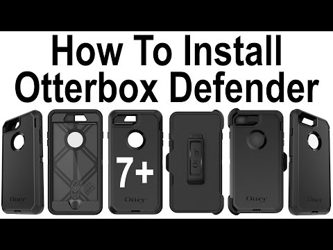 How To Install Iphone Plus In The Otterbox Defender Series Case
