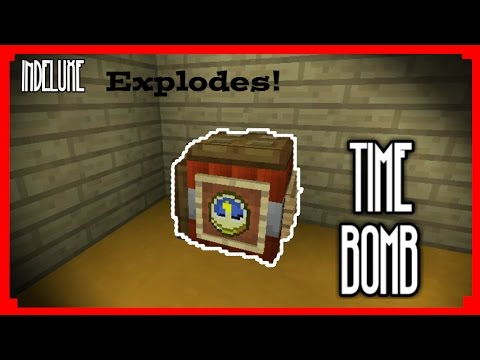 Make A Working  time bomb|MinecraftPe