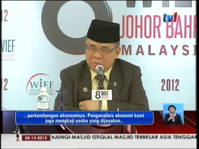 8th WIEF Al Haj Murad Ebrahim TV1 Berita Nasional News Travel Video