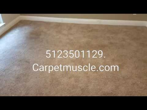 Part 2. Stretch, patch, and clean. Carpet cleaning Austin Texas.
