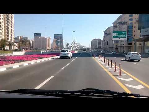 DUBAI Satwa road to clock tower