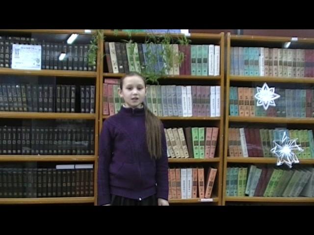 Изображение предпросмотра прочтения – ЛюдмилаШубина читает произведение «Бабочка» А.А.Фета